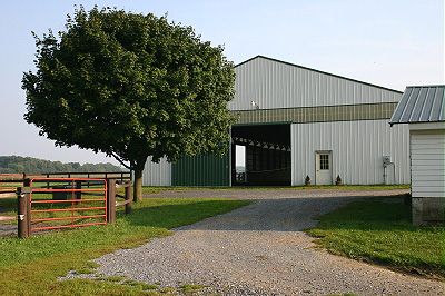 Indoor Arena and Barn